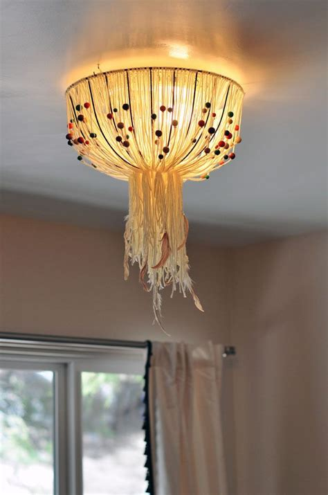 How To Rewire A Hanging L diy eames inspired bohemian pendant l cover w out rewiring maegan bloglovin