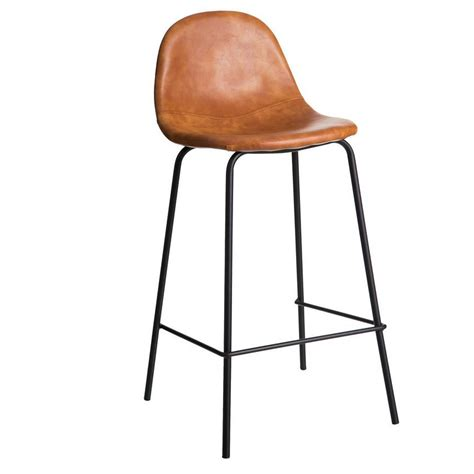sgabello vintage sgabello ecopelle cuoio sedie alte vintage