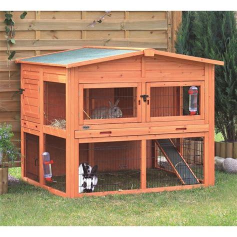 kleiner speisesaal hutch trixie natura kaninchenstall 62324 rabbit cages
