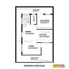 Sq Ft To Gaj 50 Gaj Area House Layout Plan Gharexpert Com Plan 1