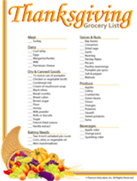 Thanksgiving Dinner Shopping List Templates Happy Easter Thanksgiving 2018 Thanksgiving Checklist Template