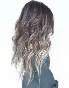 how to do ash ombre highlight on hair 25 best ideas about ash blonde balayage on pinterest