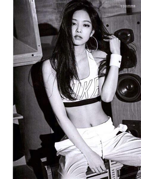 Black Pink Nike Photoshoot | hq blackpink for vogue magazine kim jennie 제니김 amino