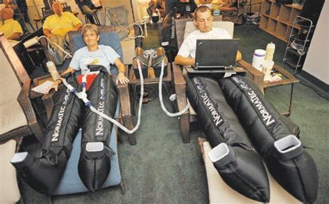 normatec boots boulder s allsports recovery club provides treatment for