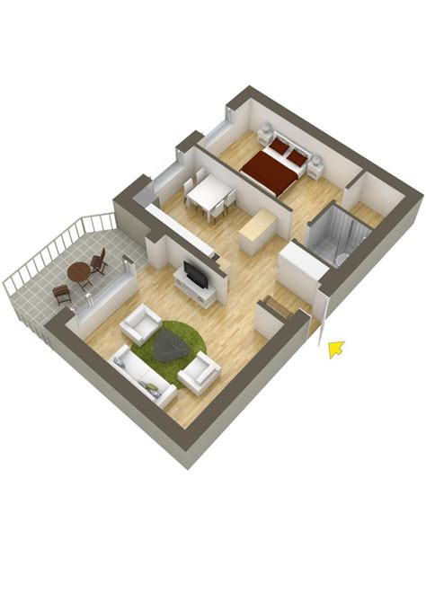 800 Sq Ft Apartment Floor Plan by 40 More 1 Bedroom Home Floor Plans