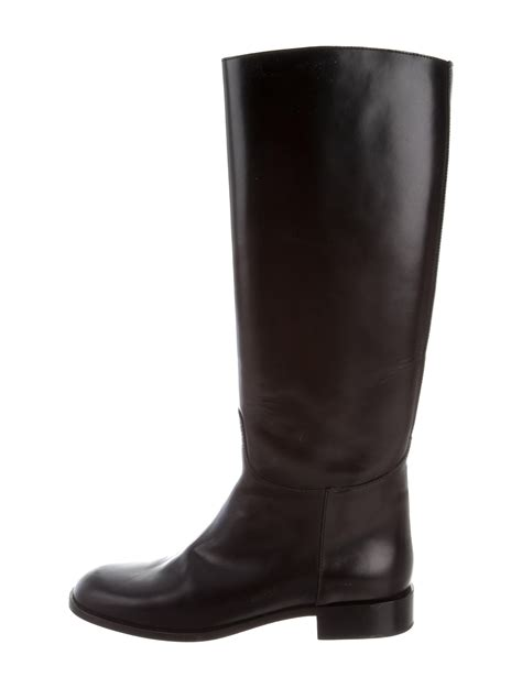 leather riding marc jacobs leather riding boots shoes mar48009 the