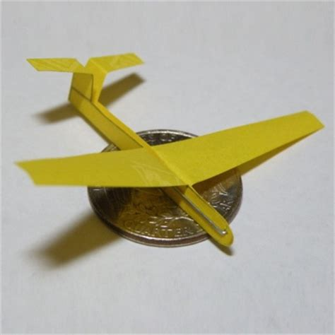 Origami Glider Plane - from instructables