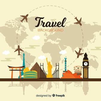 travel  vectors stock  psd
