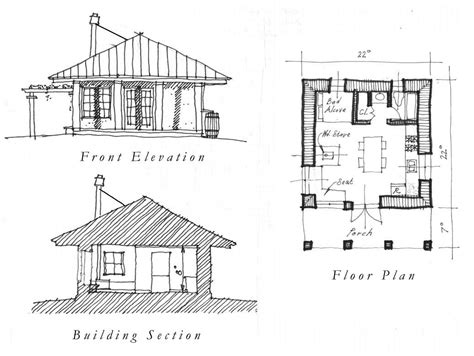 cottage floor plans free one room house plans free plan floor plans