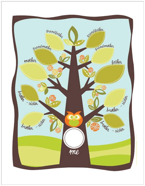 from little acorns unique family tree ideas