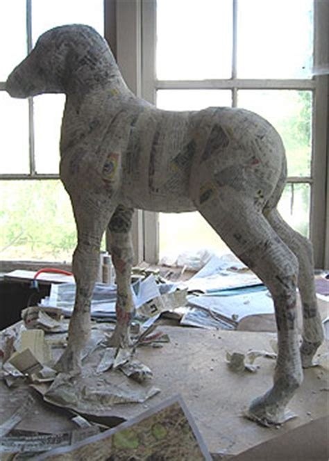 how to make animals out of pony paper mache day 6 ultimate paper mache