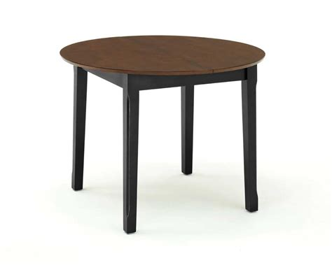 Black Dining Table With Leaf Home Styles Dining Table With Leaf Black And Cherry 88 5176 30 Homelement