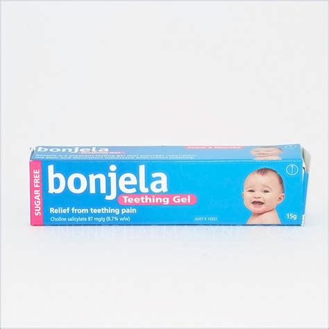 Bonjela Teething Gel bonjela teething gel pharmacy nz