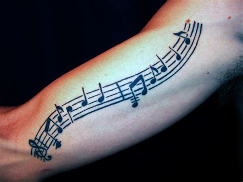 sheet music tattoo pictures at checkoutmyink com