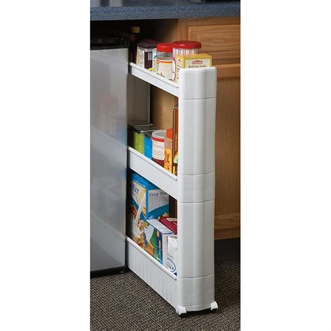 Pantry Organizers Canada by Slide Out Pantry Organizer 211703 Housekeeping Storage At Sportsman S Guide