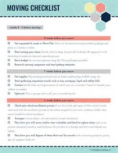 Apartment Utilities Checklist Ultimate Collection Of Moving Printables Free Printable