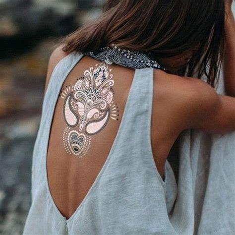 silver ink tattoo gili t 81 mesmerizing glossy metallic ink tattoo designs