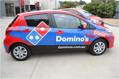 Dominos Pizza Cars by Domino S Car