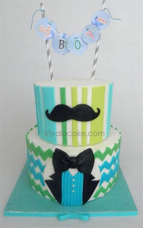 Baby Shower Mustache Cake by 1000 Images About Cakes Mustache On