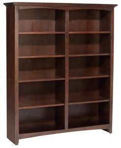 unfinished wood bookshelves 48 quot wide bookcase by whittier wood gt wood land