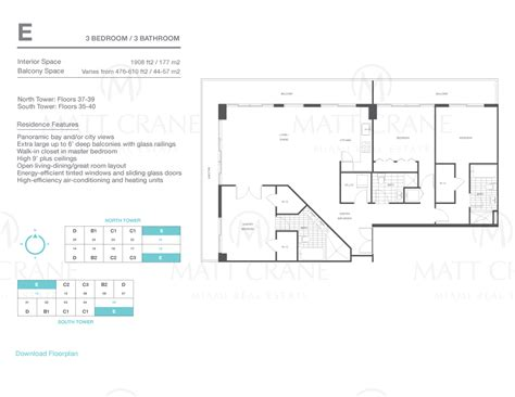 axis brickell floor plans axis brickell axis brickell condos