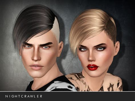 sims 4 half have hair emma s simposium free hair pack 28 by nightcrawler sims