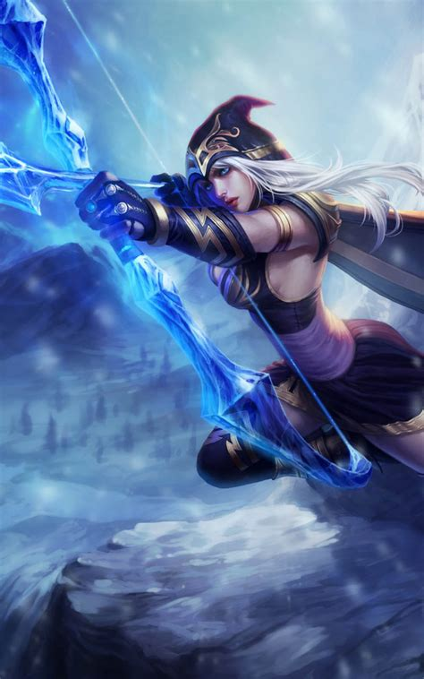 league of legends wallpaper hd mobile ashe league of legends hero download free 100 pure hd