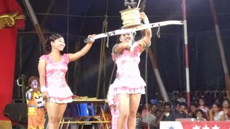 acrobatic jumbo circus  whirling ladies part