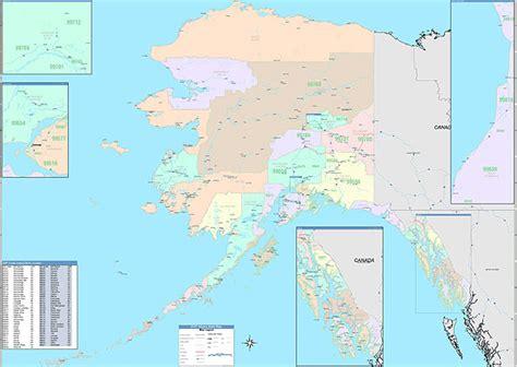 us area code 884 alaska zip code map