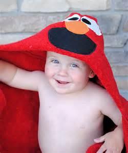 elmo bath towel elmo hooded towel cookie hooded towel
