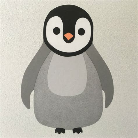 Stiker Pinguin penguin wall stickers by chameleon wall notonthehighstreet