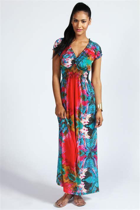 Maxi Jersey Plus Aouter Waffel isla tropical print cap sleeve maxi dress shopping s fashion s
