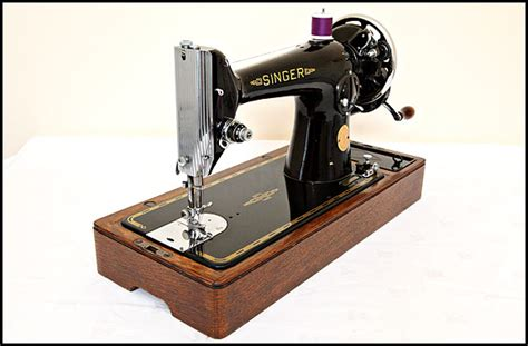 Singer 201K sewing machine from 1949