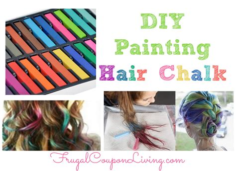 chalk paint your hair washable hair color for crafts
