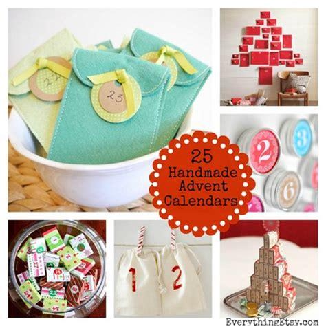 how to make handmade calendar 25 handmade advent calendars everythingetsy