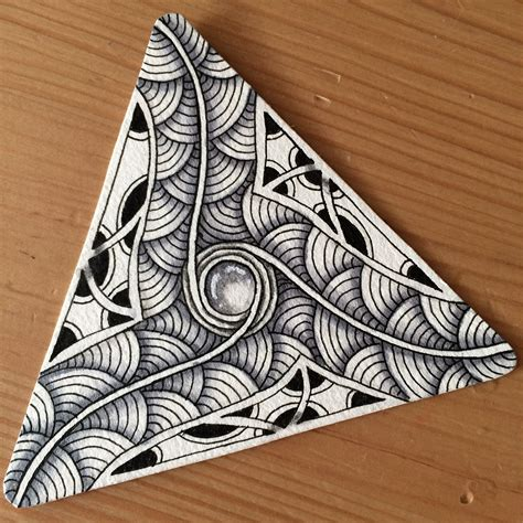 zentangle triangle pattern image result for moowa zentangle pattern zentangle