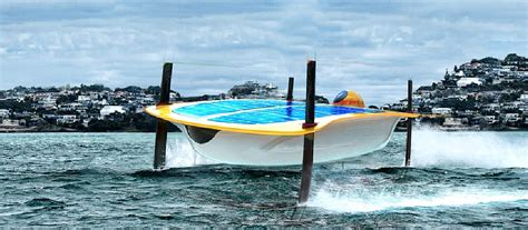 bluewater electric boats hydrofoils