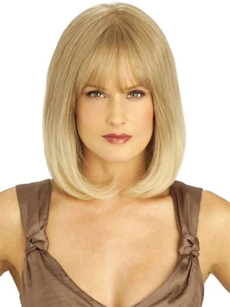 shoulder length bob for square face 16 latest medium length hairstyles for square faces wigs