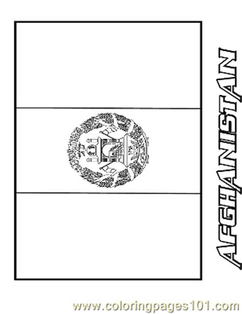 coloring pages afghanistan education gt flags free
