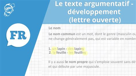Exemple De Lettre Ouverte Secondaire 5 All 244 Prof Texte Argumentatif D 233 Veloppement Lettre Ouverte