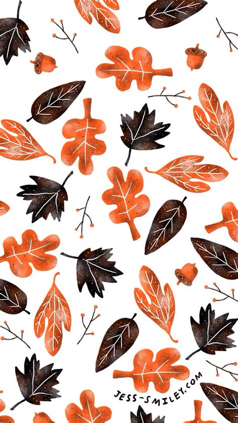 wallpaper iphone leaves autumn fall leaves iphone background lock screen phone