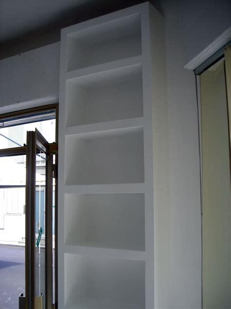 libreria athena modena foto scaffale in cartongesso di athena finiture s r l