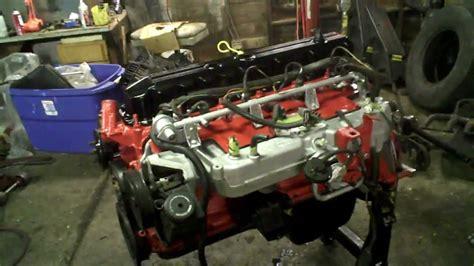 how do cars engines work 2000 jeep grand cherokee interior lighting ipartcars com update pt 3 jeep wagoneer 4 0 motor paint is done cherokee wrangler woody