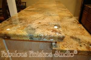 Countertop Finishes Epoxy by Ten Projects Day Three A Trio Of Metallic Reptile Hides
