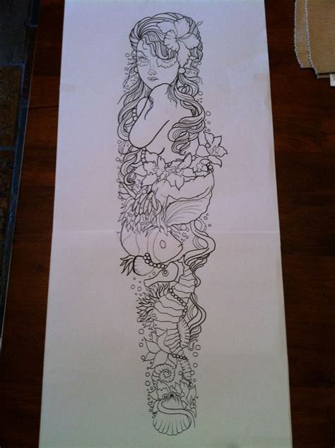 ocean themed tattoo sleeve sleeve ideas for theme sleeve