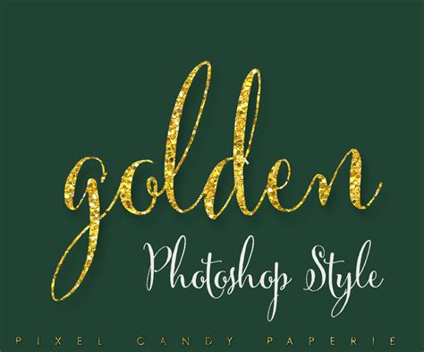 design your logo photoshop design your own glitter logos with this golden photoshop