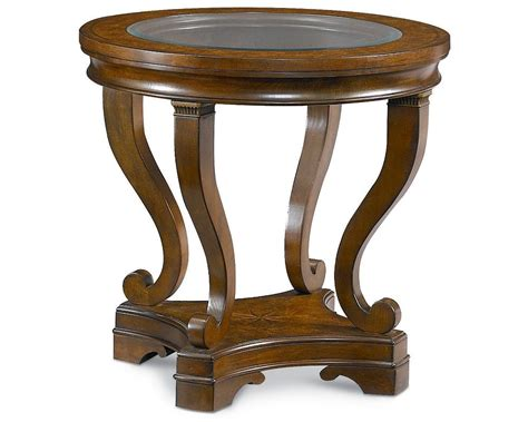 Thomasville Furniture Dining Room deschanel round lamp table thomasville furniture
