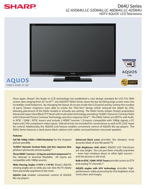 Tv Sharp Lc 32dx888i Why sharp aquos manual packard bell 3500 driver zip