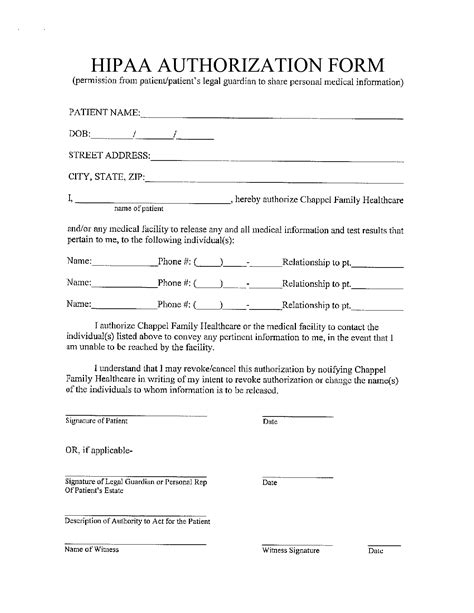 privacy release form template best photos of hipaa patient consent forms hipaa privacy
