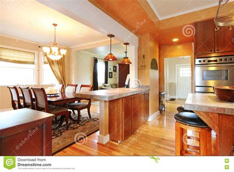decorar cocina online house interior with open wall design view of dining table